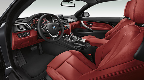 BMW 4 Serisi Coupe Ic Tasarim
