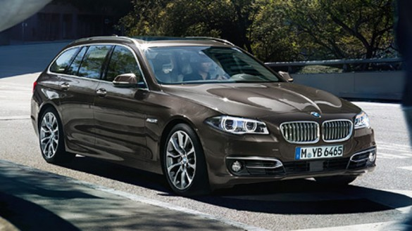 BMW 5 Serisi Touring Line ve Donanim
