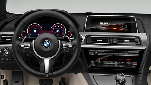BMW 6 Serisi Coupe Konfor