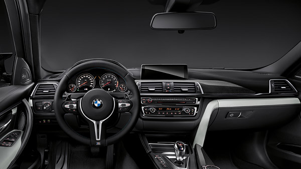 BMW M Serisi M3 Sedan Ic Tasarim