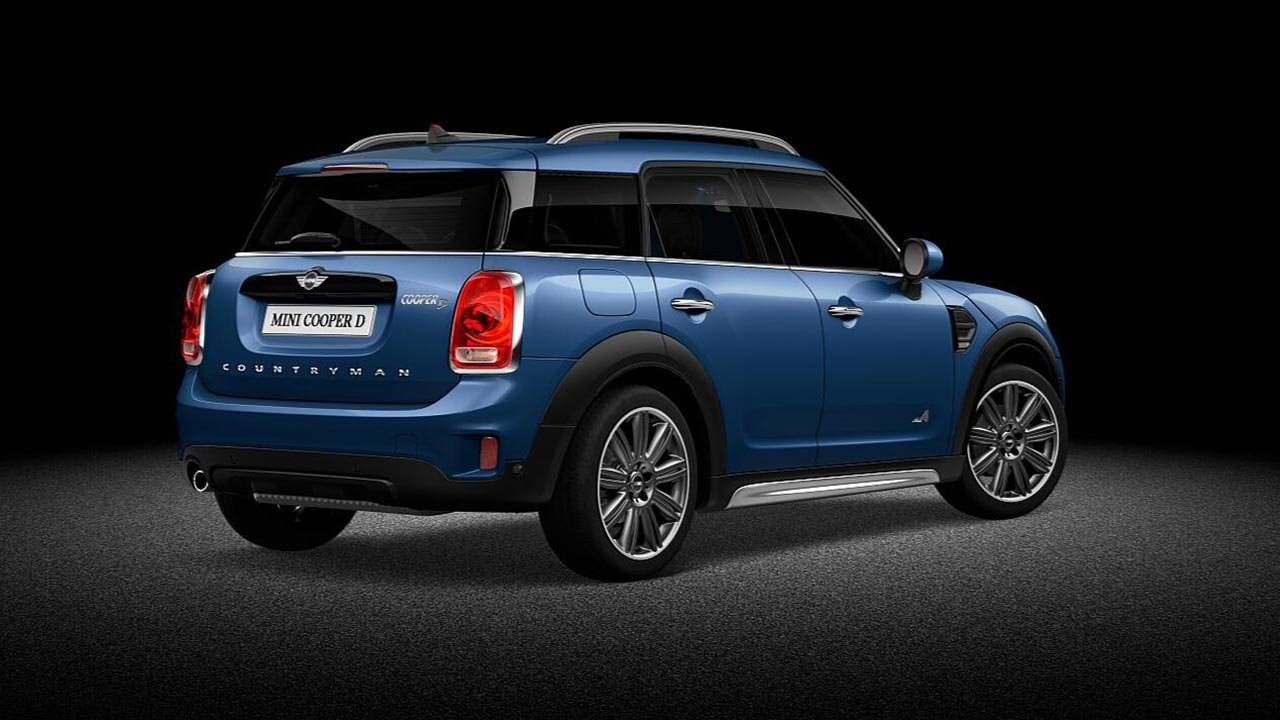 MINI Countryman Maceralara Yer Acin
