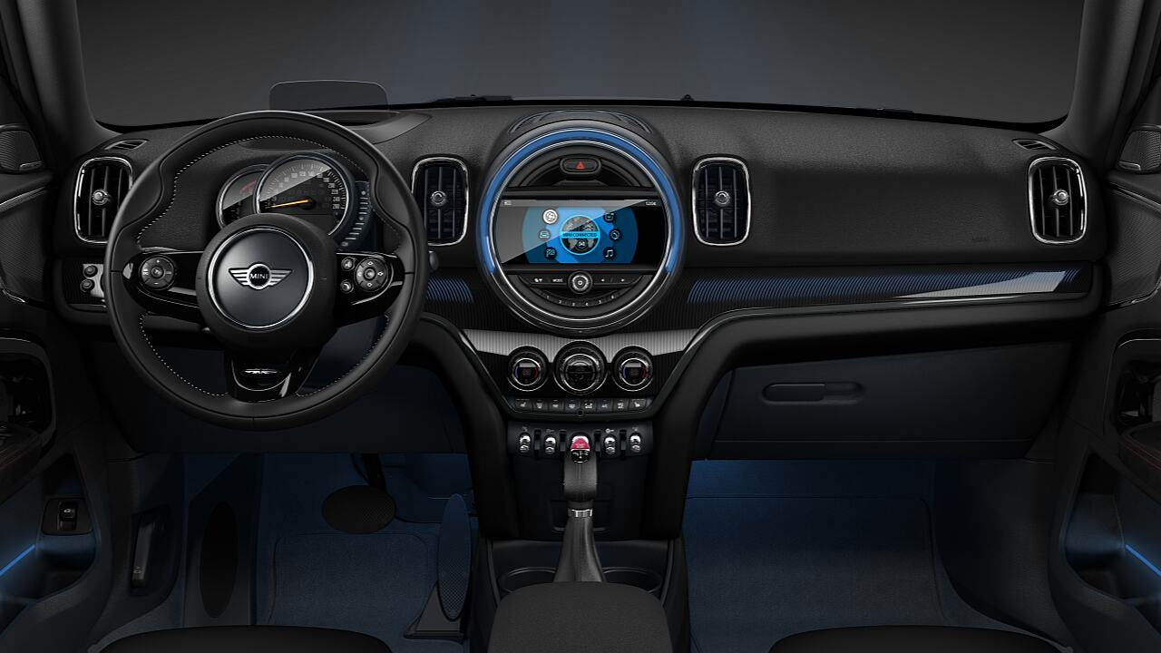 MINI Countryman Isikli Ic Tasarim